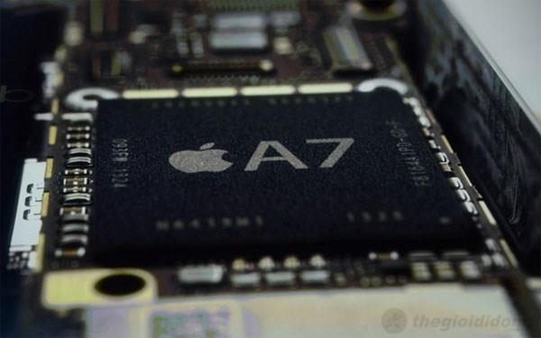 Chip A7 mới trên Iphone 5S được người dùng đặt kỳ vọng lớn