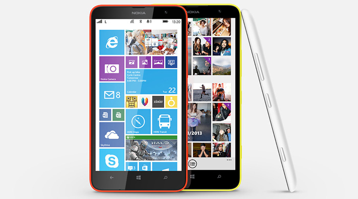 Nokia Lumia 1320 Design