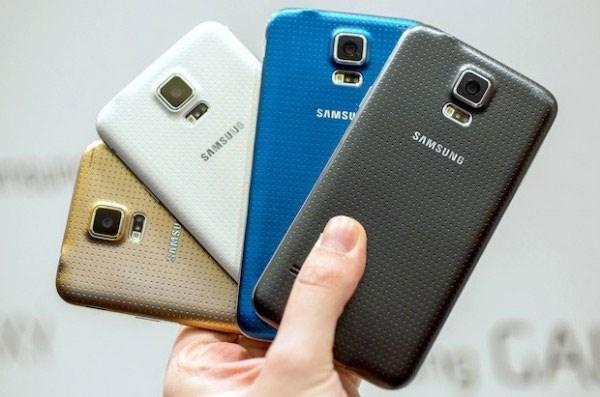 Galaxy S5 mặt sau