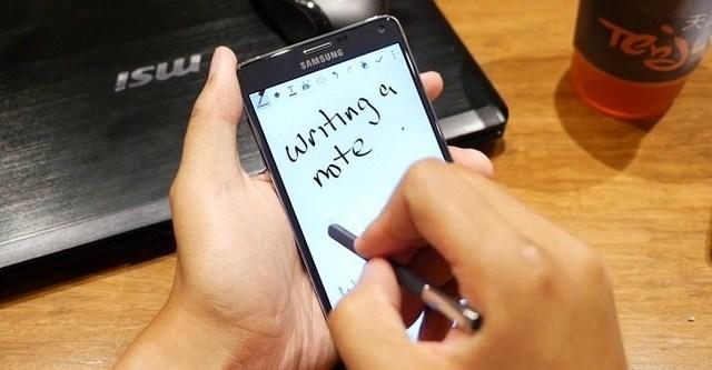 Bút S-pen với nhiều cải tiến