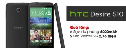 Điện thoại di động HTC Desire 510