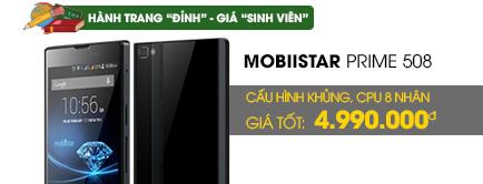Điện thoại di động Mobiistar Prime 508