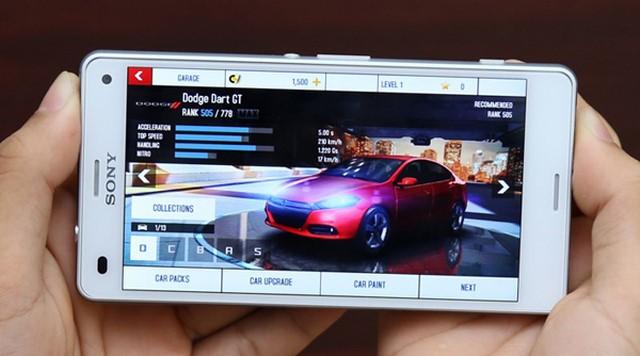 Sony Xperia Z3 Compact sẽ làm hài lòng bạn với những thước phim sống động, game đồ họa cao hấp dẫn,…