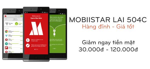 Điện thoại di động Mobiistar LAI 504c