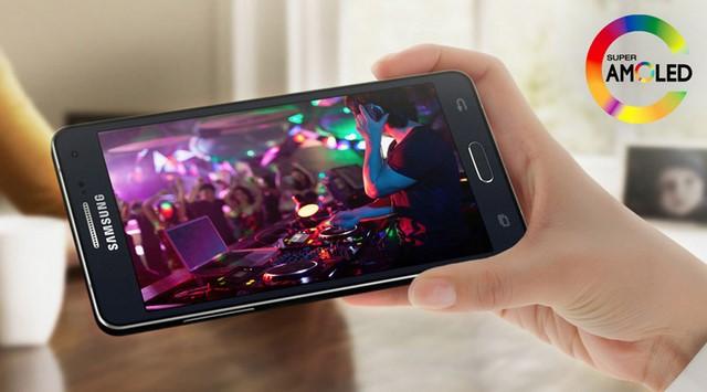 Công nghệ màn hình AMOLED cho chất lượng hiển thị rất tốt