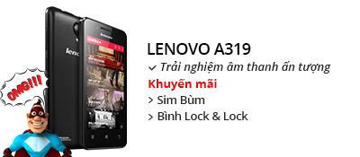 Điện thoại di động Lenovo A319