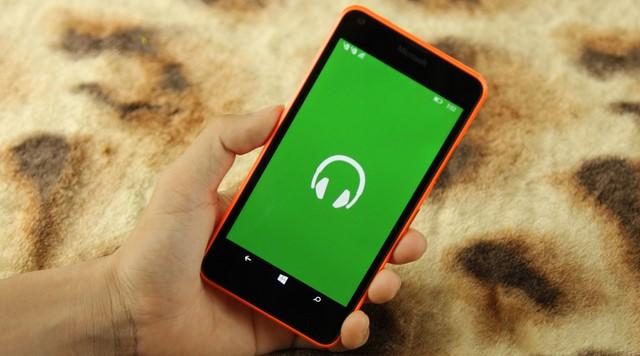 Nghe nhạc với ứng dụng nghe nhạc của WP 8.1