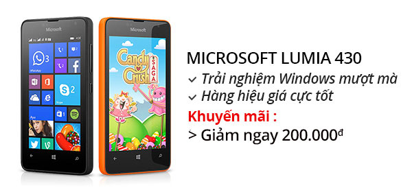 Điện thoại di động Microsoft Lumia 430