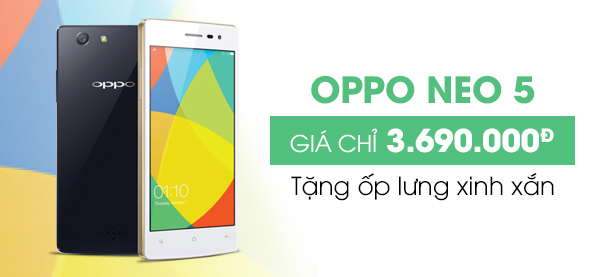 Điện thoại di động OPPO Neo 5