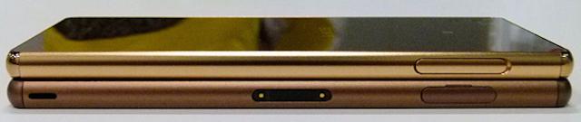 Máy mỏng và nhẹ hơn Xperia Z3 một chút. Cụ thể trọng lượng chỉ 144g, và chỉ dày 6,9mm, so với các thông số của Z3 là 146 mm x 72 mm x 7.3 mm và nặng 153g.