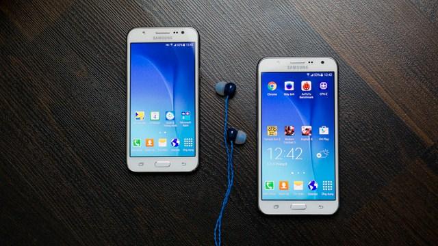 Khả năng hiển thị không khác bao nhiêu so với Galaxy J7