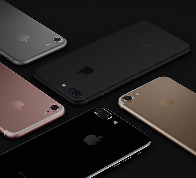 Tất cả các màu sắc của iPhone 7