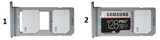 Nếu bộ nhớ trong 32 GB vẫn ít, bạn vẫn có thể lựa chọn mở rộng thẻ nhớ lên đến 128 GB