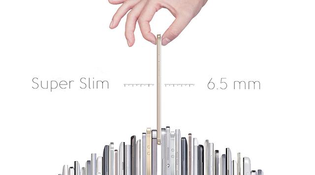 Nova X mỏng chỉ 6.5 mm cùng thiết kế ôm tay giúp cầm nắm dễ dàng hơn