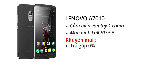Điện thoại di động Lenovo A7010 (K4 Note)