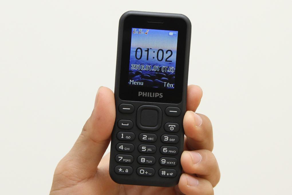 Philips E105 – Featurephone đơn giản, tiện dụng