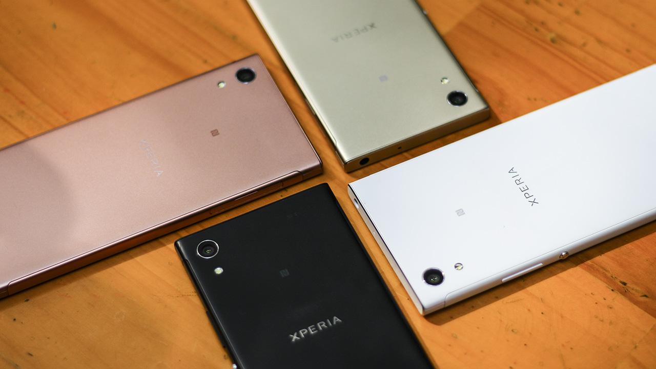 Thiết kế Xperia XA1