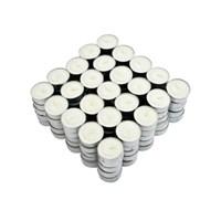 Nến Tealight bông trắng Milaganics 10g hộp 125 viên