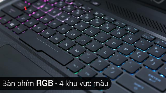 Bàn phím RGB đa sắc màu