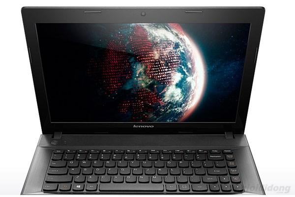 Màn hình của Lenovo G400 cho khả năng hiển thị tốt