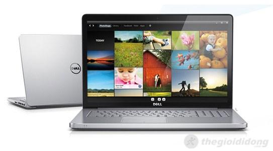Dell Inspiron 7537 màn hình rộng rãi là một thế mạnh giúp người dùng thoải mái hơn