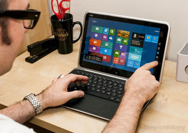 Dell XPS Duo 12 touch screen