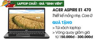 Acer Aspire E1 470 i3 3217U/2G/500G