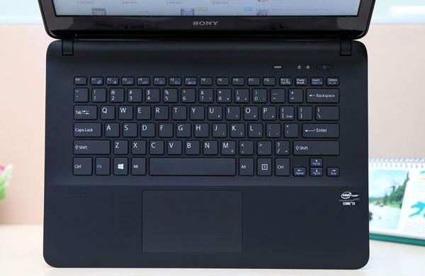 Vaio Fit 14E  bàn phím và touchpad