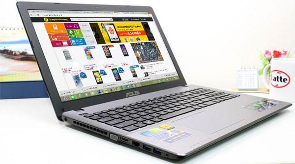 Asus X550LC NVIDIA  GeForce GT 720M, 2GB và Core  i5 Haswell 4200U