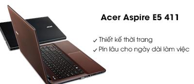 Laptop Acer Aspire E5 411 N2940/2GB/500GB