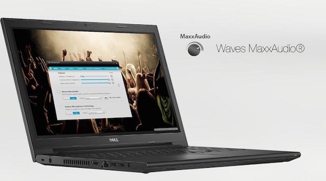 Dell Inspiron 3443 có công nghệ âm thanh tiên tiến