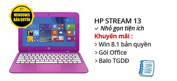 Laptop HP Stream 13 N2840/2GB/32GB/Win8.1