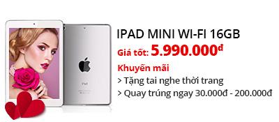 Máy tính bảng iPad Mini Wifi 16GB