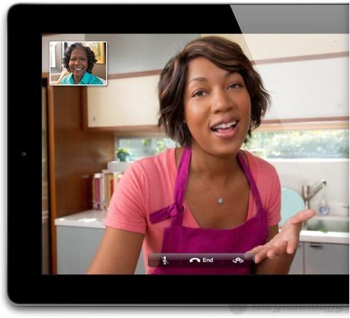 Chất lượng cuộc gọi video-call ấn tượng trên iPad 4