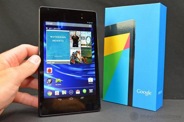 Thiết kế đẹp hơn nhiều so với thế hệ Nexus 7 trước