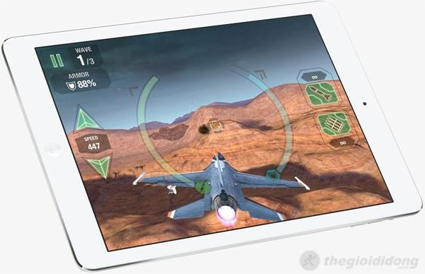 iPad Air có thể chạy mượt mà những game đồ họa cao nhất
