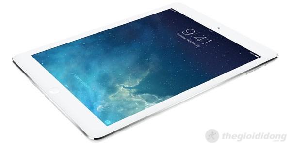 Màn hình sắc nét, các chi tiết trên iPad Air được thể hiện chân thực