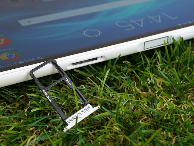 MediaPad T2 7 Pro - Thiết bị cho phép lựa chọn sử dụng hai sim hoặc một sim và thẻ nhớ, có hỗ trợ khả năng kết nối 4G