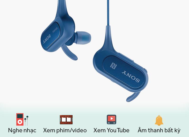 Tai nghe Bluetooth Sony MDR-XB50BS - Khoảng cách kết nối lên tới 10 m