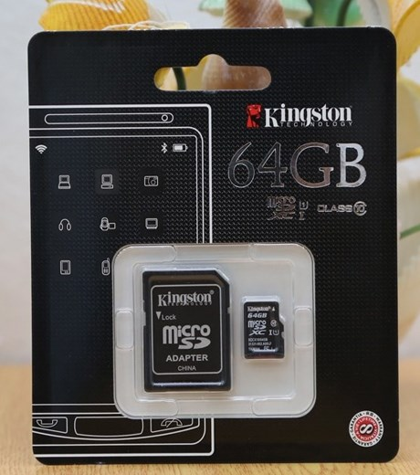 Thẻ nhớ Thẻ nhớ Micro 64GB class 10_UH1 Kingston