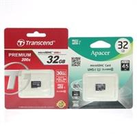 Thẻ nhớ Thẻ nhớ MicroSD 32Gb class 10