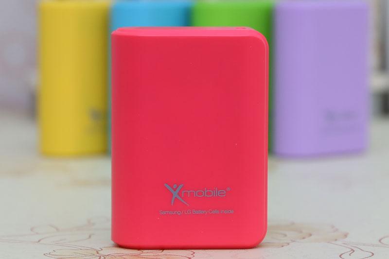 Pin sạc dự phòng 6000 mAh màu sắc