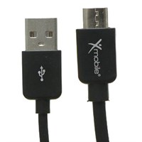 Cáp Micro USB Xmobile MU03 Đen