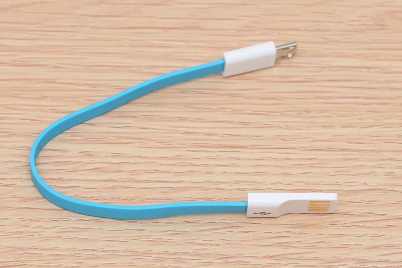 Cáp Micro USB Pisen MU09-200 - Thiết kế gọn nhẹ, dễ dàng mang theo bên mình