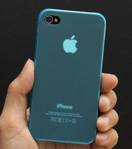 Ốp lưng - Flipcover điện thoại Ốp lưng nhựa mỏng iPhone 4/4S Devia SS2