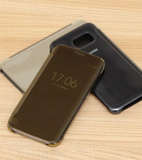 Ốp lưng - Flipcover điện thoại Ốp lưng Samsung Galaxy S6 Edge