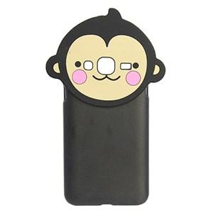 Ốp lưng Galaxy J3 Nhựa hình thú OSMIA Khỉ Đen