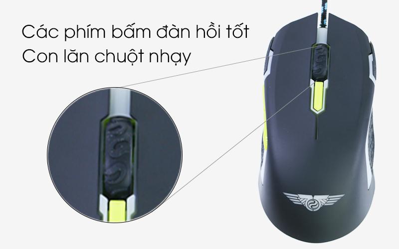 Chuột có dây Newmen N8000 -Con lăn chuột nhạy, click chuột chính xác