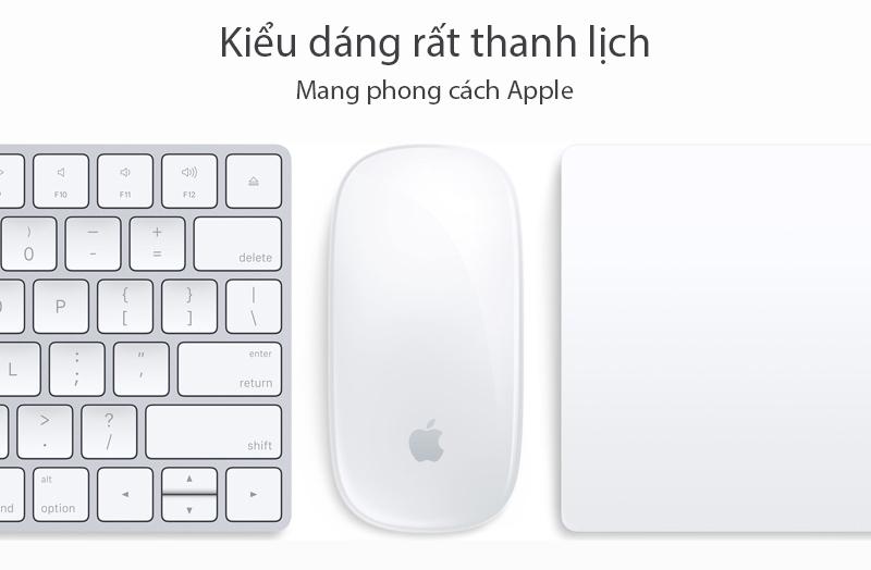 Chuột Bluetooth Apple MLA02 - Thiết kế