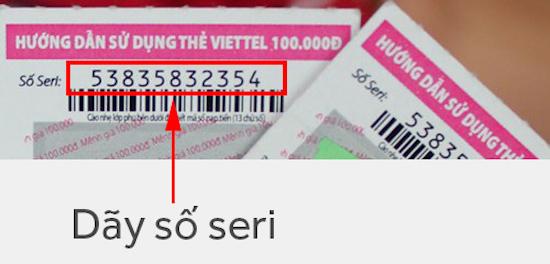 www.123nhanh.com: Kiểm tra thẻ cào Viettel qua số ser trên ứng dụng MyViet